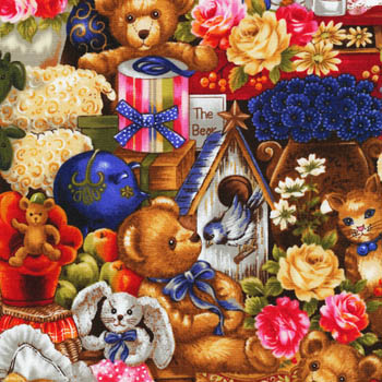 Buddy Bears by Fabri-Quilt - Packed Bears & Toys