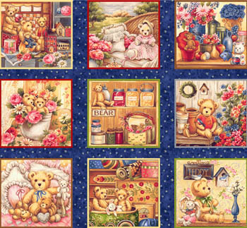 Buddy Bears by Fabri-Quilt - Beary Blocks/Labels