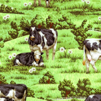 Farm Living by Fabri-Quilt - Cows