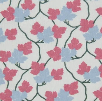 1301 Trailing Leaf Vine - Pink & Blue