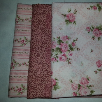 Stash Building Pack - Pink Florals - 0.8MTRS