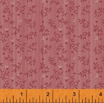 Gathered Over Time - Floral Dot - Pink FQ