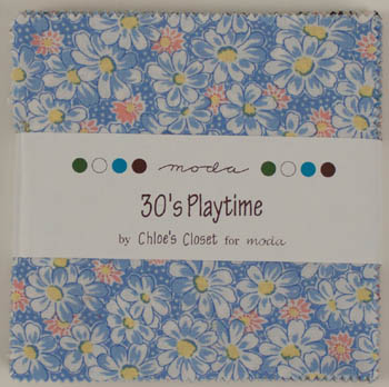 30's Playtime by Chloe's Closet for Moda - Charm Squares