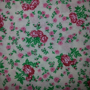 Pink Floral Posies from Ebor Fabrics 500/04