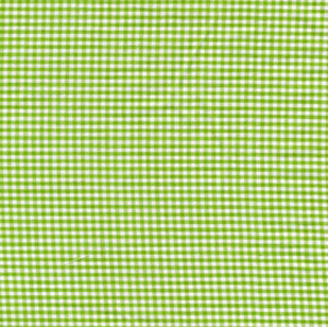 Sevenberry Gingham Collection - Lime Green 1/16 Check