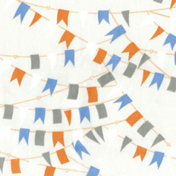 Cabana by Benartex - Nautical Flags Cream