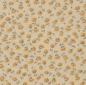 Sevenberry Fabrics 6100 - Tiny Floral Yellow on Yellow