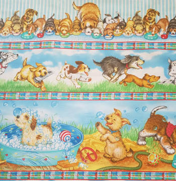 Fuzzytail Kittens & Pups - Puppy Border Stripe