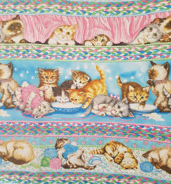 Fuzzytail Kittens & Pups - Kitten Border Stripe