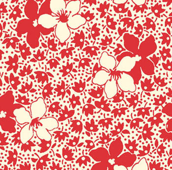 Feedsack 11 by Blue Hill - Floral Allure Red