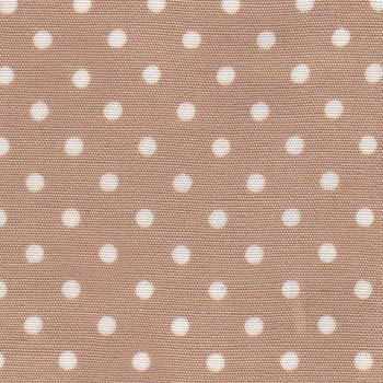 Sevenberry Fabrics - Small White Dots on Beige