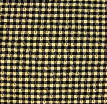 Turn of the Century by Exclusively Quilters - Black/Ecru Check
