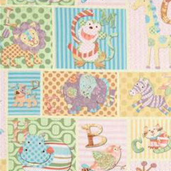 Alphabet Zoo by Springs - Patchwork