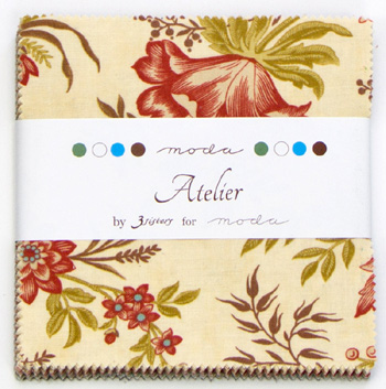 Atelier by 3 Sisters for Moda - Charm Squares