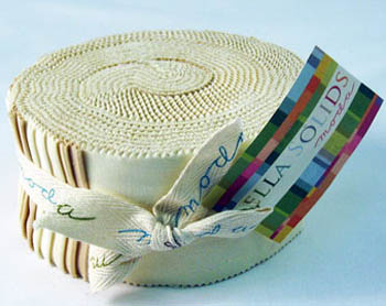 Moda Bella Solid Neutrals - Moda Fabrics Jelly Roll