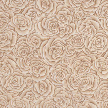 Classic Rose by Makower - Bouquet Rose Cream