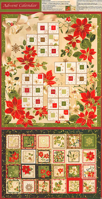 Christmas Traditions by Fabri-Quilt - Advent Panel