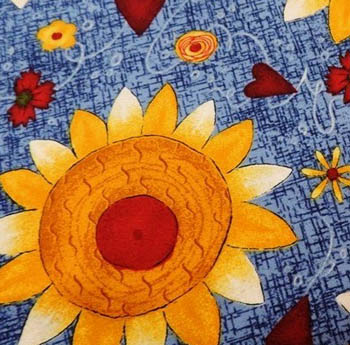 Classic Folk Art by Fabri-Quilt - Sunflowers