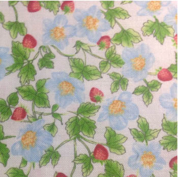 Cottage Kitchen by Fabri-Quilt - Strawberries White