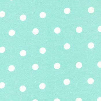 Cuddle Print Flannel by Fabri-Quilt - Spots On Aqua