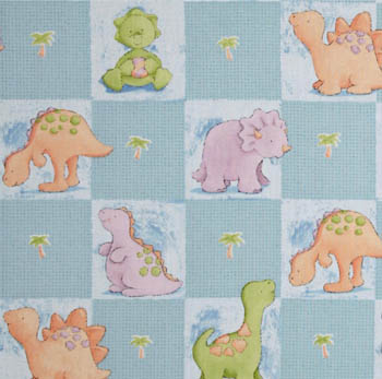 Cute a Saurus by Cathy Heck for Springs - Animal Patch