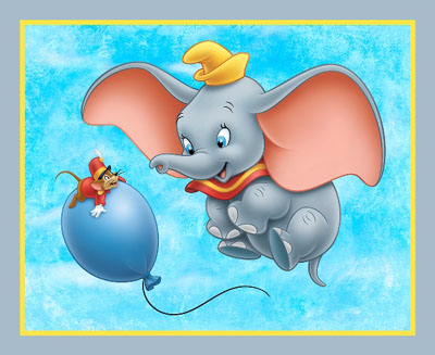Disney Dumbo - Dumbo & Balloon Panel