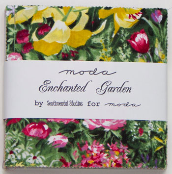 Enchanted Garden by Moda Fabrics - Charm Squares
