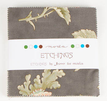 Etchings by 3 Sisters for Moda Fabrics - Charm Squares