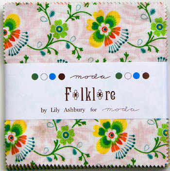 Folklore by Lily Ashbury for Moda - Charm Squares