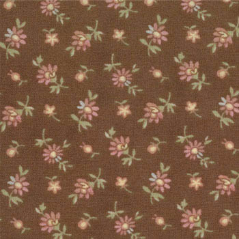 Garden Party Moda Fabric - Daisy Plum