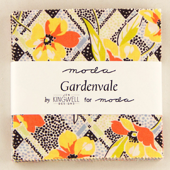 Gardenvale by Jen Kingwell for Moda - Charm Squares