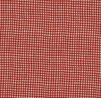 Gingham Check by Makower Fabrics - Red R6