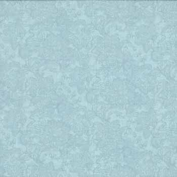 Glamour by Makower - Lace Soft Blue