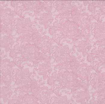 Glamour by Makower - Lace Soft Pink