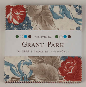 Grant Park by Minick & Simpson for Moda - Charm Squares