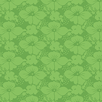 Victorian Nursery Peter Rabbit - Floral Tonal Green