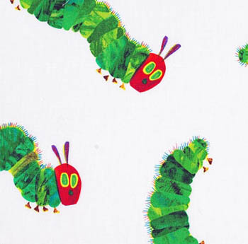 The Very Hungry Caterpillar - Encore by Makower - Caterpillars