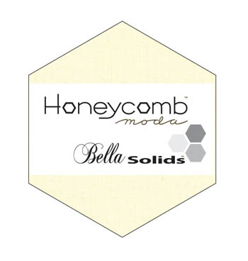 Moda Bella Solid Honeycomb - Snow 9900HC 11