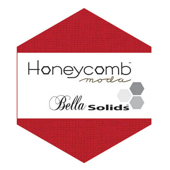 Moda Bella Solid Honeycomb - Red 9900HC 16