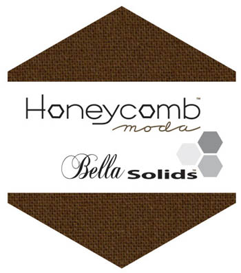Moda Bella Solid Honeycomb - Brown 9900HC 71