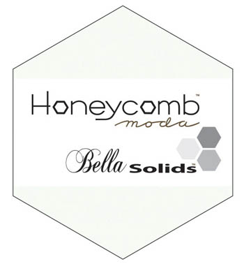Moda Bella Solid Honeycomb - White 9900HC 98