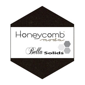 Moda Bella Solid Honeycomb - Black 9900HC 99