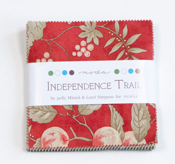Independence Trail by Moda Fabrics Charm Squares