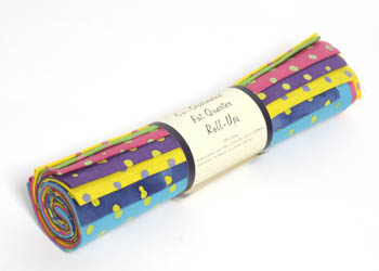 John Louden Calypso 8 Fat Qtr Roll-up - Polka Dot