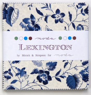 Lexington by Minick & Simpson for Moda - Charm Squares