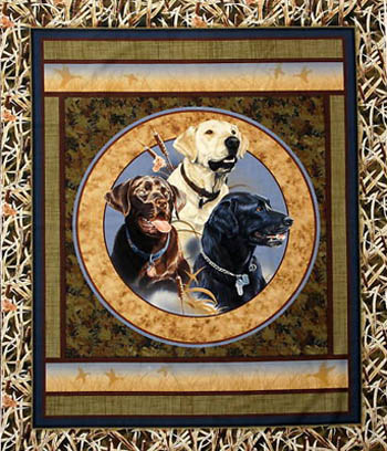 Loyal Retrievers by Springs - Retriever Panel/Wallhanging