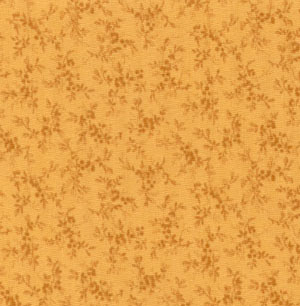 Muted Moments Tossed Bouquet Golden Rod Classic Cottons