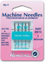 Needles - Machine - Quilting Size 80/12 medium