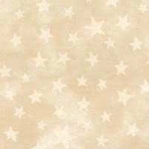 Moda Marble Star Fabric - Tan
