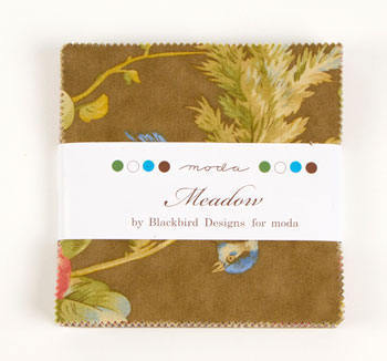 Meadow by Blackbirds Designs Moda Fabric Charm Squares